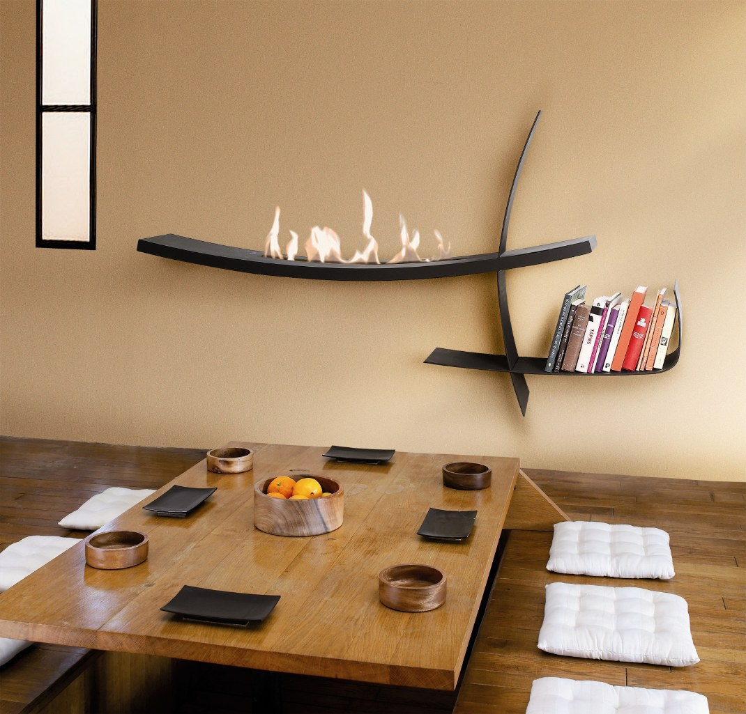 Free standing, Designers fireplaces
