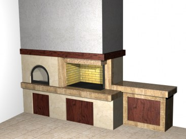 Individual 3D projects of barbeques ArtPro Design